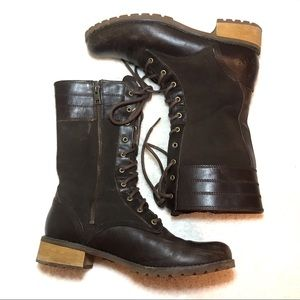 Timberland Size 8.5 Brown Calf Boots Field Style